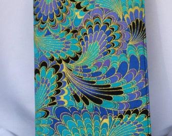 Golden Swirls Checkbook Cover