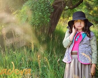 Girls Boho light weight embellished cardigan back to school