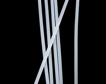 20 pieces - Hot Glue Melt Clear Transparent Adhesive Sticks - 20cm (7.88 in) long - 7mm diameter (.275 in) - NOT MINI
