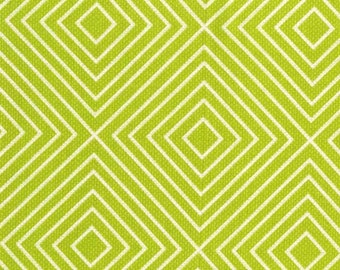 Sale, Minky Baby Blanket - Green Diamonds - Personalization Options Available