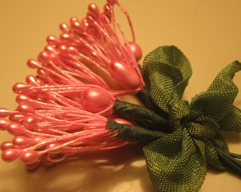 Vintage Millinery Stamens Floral Supplies Craft Embellishments
