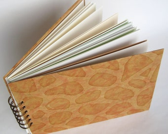 A5 Mixed Paper Journal with Handmade Paper Covers