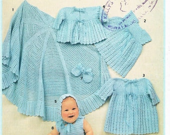 Patons Layette in 3 Ply - Knitting and Crochet Patterns