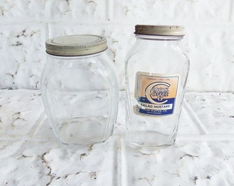 2 Art Deco  Jars . Storage Jars