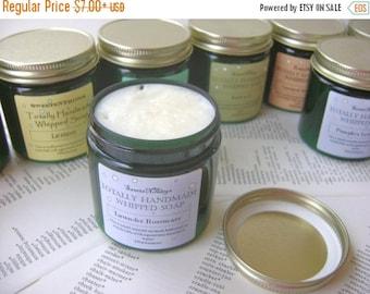Totally Handmade Whipped Soap, Lavender Rosemary Scent