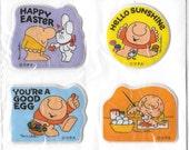 Vintage 80's Puffy Ziggy Sticker Sheet NIP