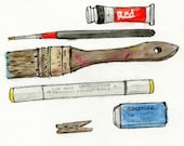 ORIGINAL Watercolor Tools