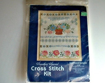 Traditional Sampler Kit Cross Stitch   In Package 20108 Candamar Designs Something Special