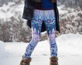 Rock Garden Leggings (purple)