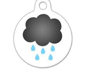 Pet ID Tag - My Little Rain Cloud  Pet Tag, Dog Tag, Cat Tag