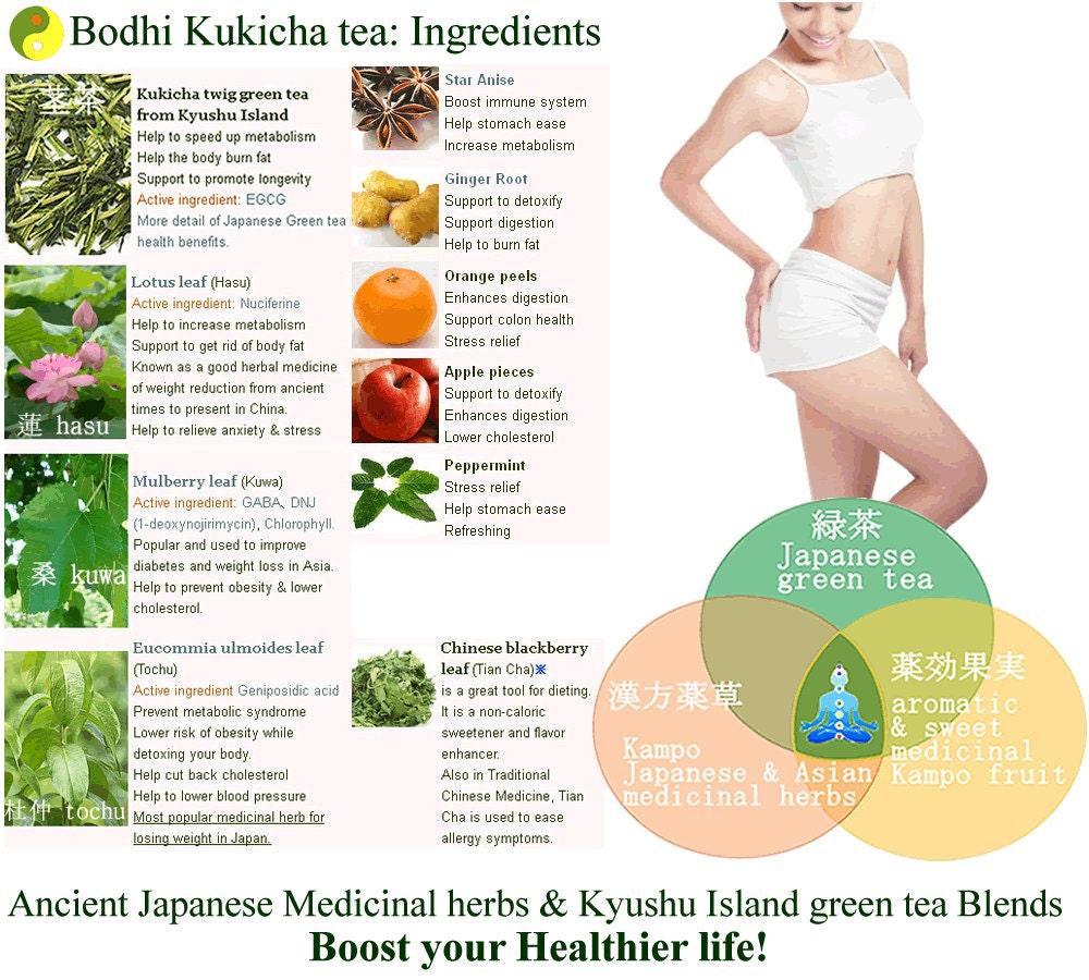 Japanese Detox Weight loss & Slimming Diet Bodhi Kukicha