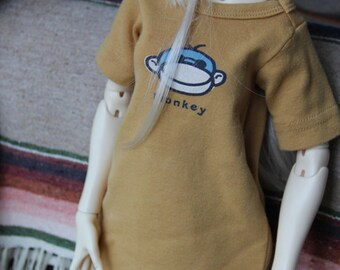 SD/SID/Twigling BJD Night Night Monkey with knit socks and eyeglasses by EnModa
