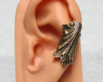Sea Shell Nautical Ear Cuff