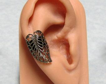 Filigree Heart Ear Cuff