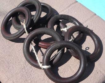 Wood Hoops - Repurpose - Crafts -