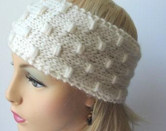 KNITTING PATTERN Sarah Jane Warmer pattern, knitting pattern, warmer pattern, knit Warmer Pattern, Knit Headband pattern