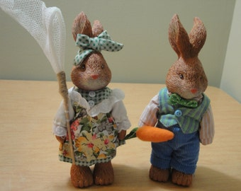 Mr. and Mrs. Bunny Rabbits