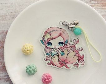 Lolita the mermaid - charm