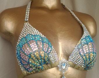 mermaid themed figure suit