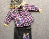 Scarecrow Costume size 2T with Coat