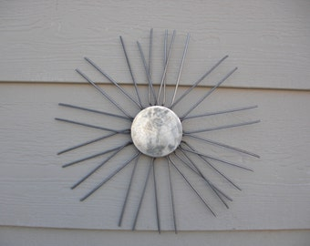 Stainless Steel Sun for the wall