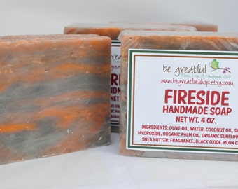 Fireside Cold Process Soap Bar