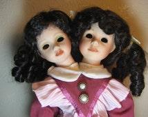 Creepy Siamese Twins with No Eyes