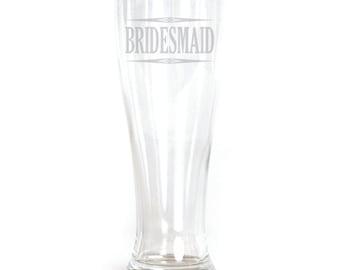 Pilsner Glass - 19oz - 9537 Bridesmaid