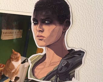 FURIOSA Mad Max Fury Road Fridge Magnet