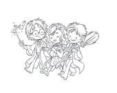 Magic Trio: Original Inks