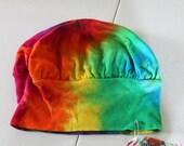 Tie dye toddler/youth mushroom hat