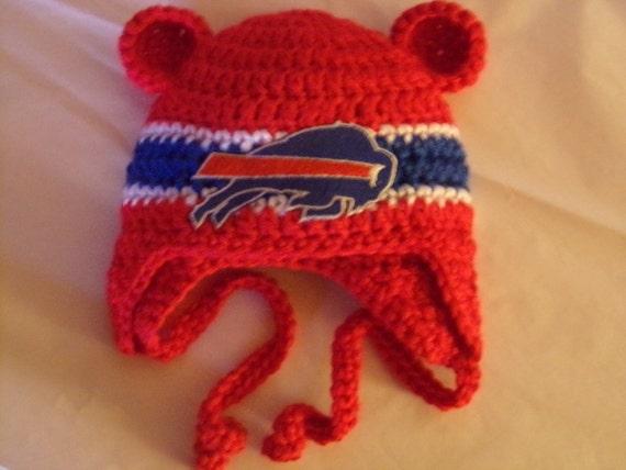 Buffalo Bills Baby hat for Newborn to 18 months New York team