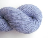 Aran to Bulky Weight Cashmere Recycled Yarn, Light Periwinkle Blue, 200 Yards, Lot 060516