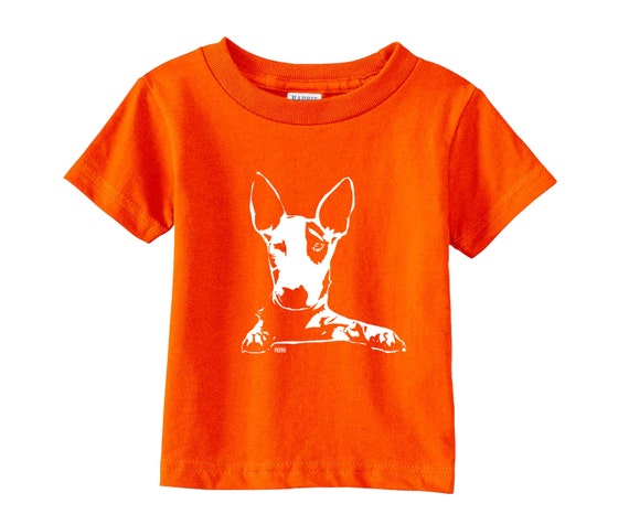 English Bull Terrier Baby T Shirt Dog Themed By