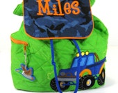 Monster Truck Backpack for Toddlers
