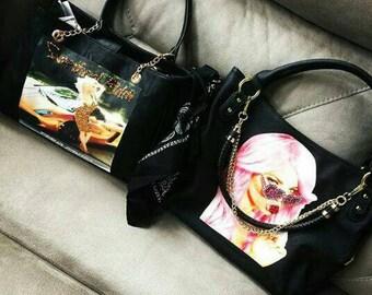 Custom Trisha Paytas Purse Made With Swarovski Elements