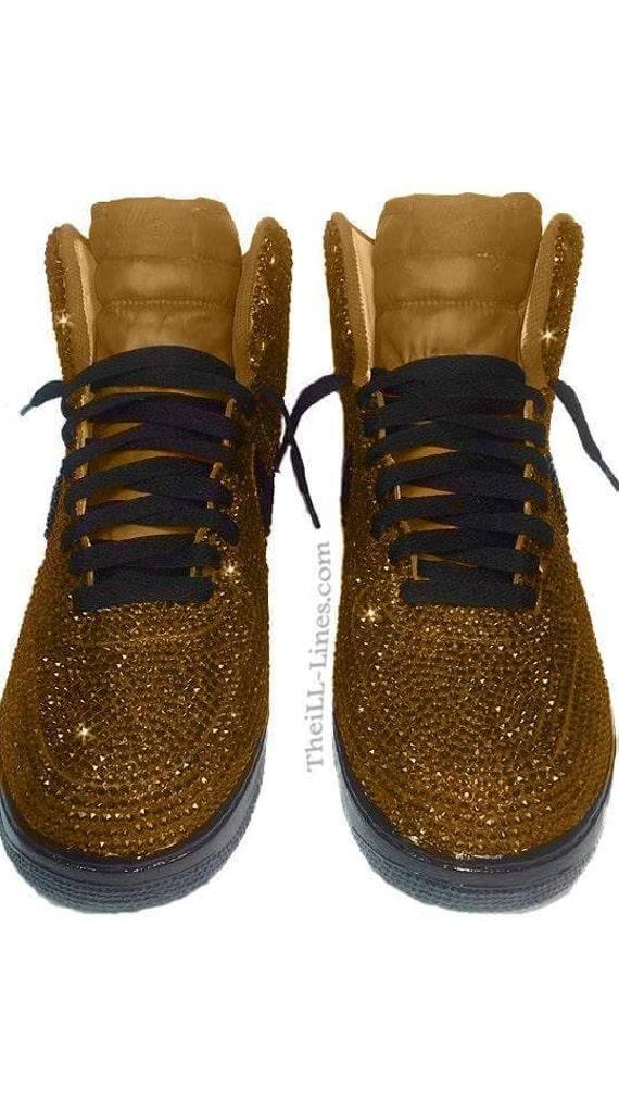 online retailer d502a 9d45a new Custom Nike Shoes Nike Swarovski Rhinestone Nike by TheILLlines