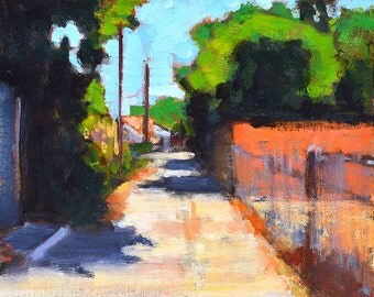 Alley- North Park San Diego City Painting