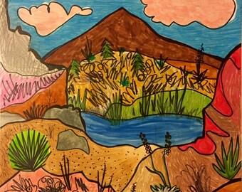 Desert landscape #5