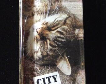 city kitty necklace