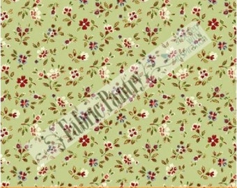 Sale! HOME SWEET HOME~ Tiny Ditzy Flowers ~ Quilt Fabric ~ Windham ~ 33363-1 ~ Sold By The Half Yard