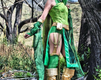 Rydia from Final Fantasy IV Cosplay Print