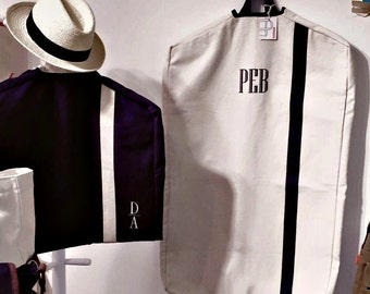 Monogrammed Garment Bag  - perfect for the traveler in your life