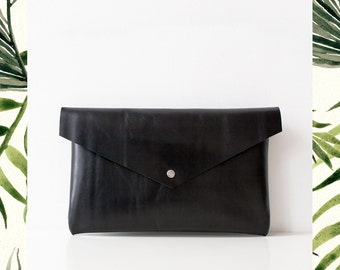Black Envelope Bag No. Leb-102