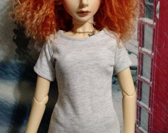 TEST PATTERN 60cm Tee Shirt for SD/SD13 girl dolls