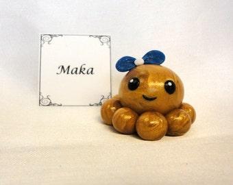 Clay Octopus- Maka the Polymer Clay Octo Buddy