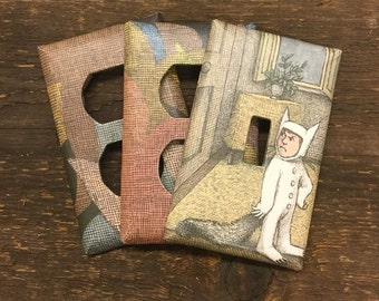 Where the Wild Things Are Light Switch Plate Set (3)
