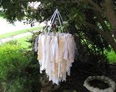 Rustic Wedding Decor, Outdoor Weddings, Wedding Chandelier, Boho Country Prairie Style, Bridal Shower Decor, Garden Tea Party, Wedding Decor
