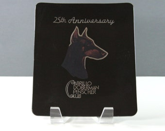 Couroc. Cabrillo Doberman Pinscher Club Couroc Plate