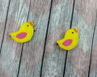 Little Chick Bobby Pin Hair Accessory
